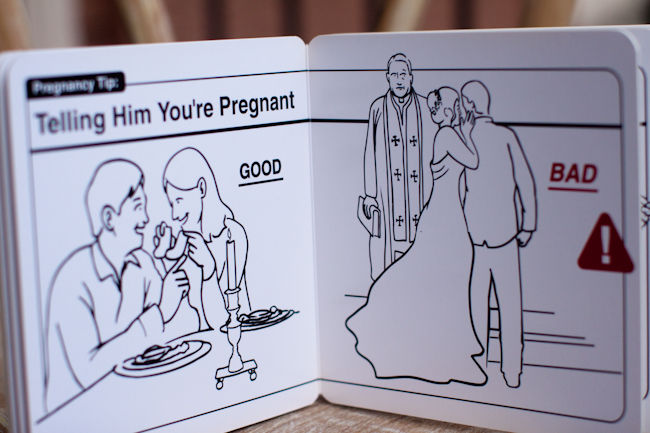 how to tell your husband you're pregnant