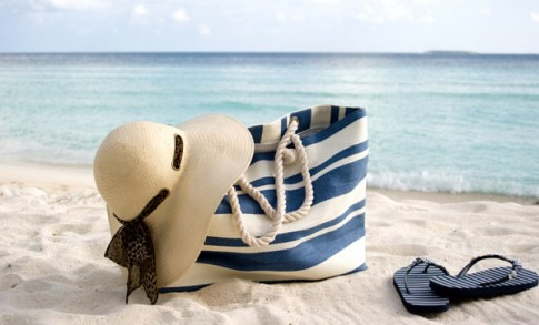 Bag on Beach Luxury Spot