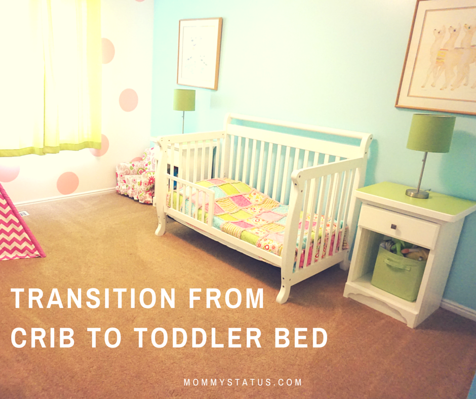 Crib To Toddler Bed Transition