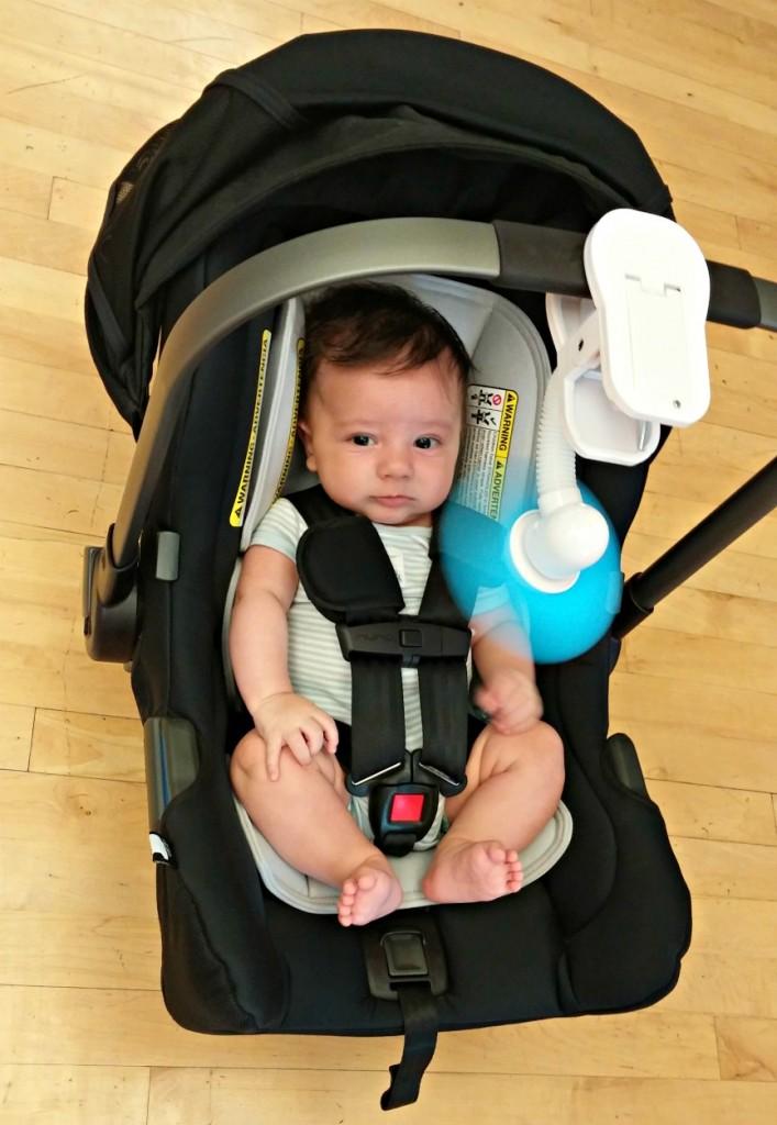 car seat fan, stroller fan, foam blade fan, infant fan, baby fan