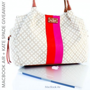 macbook air and kate spade giveaway