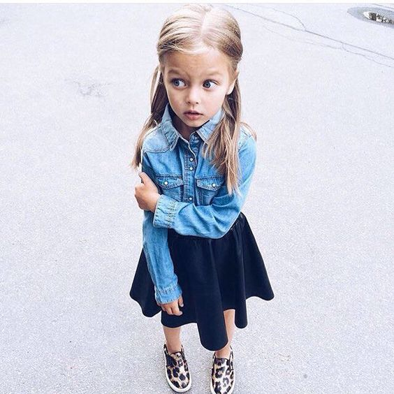 Little Girl Denim Chambray