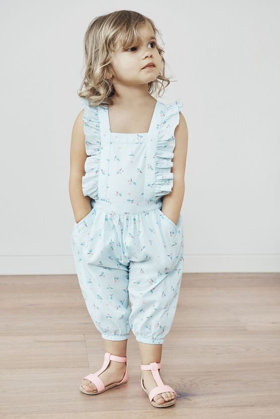 Little Girl Spring Romper