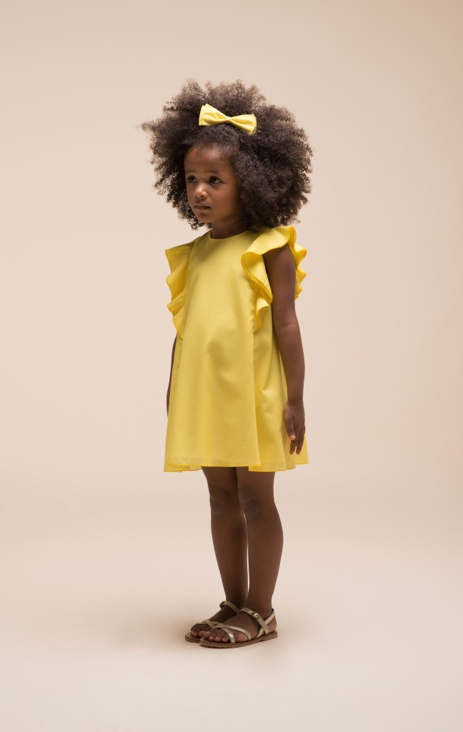 Yellow Dress Little Girls