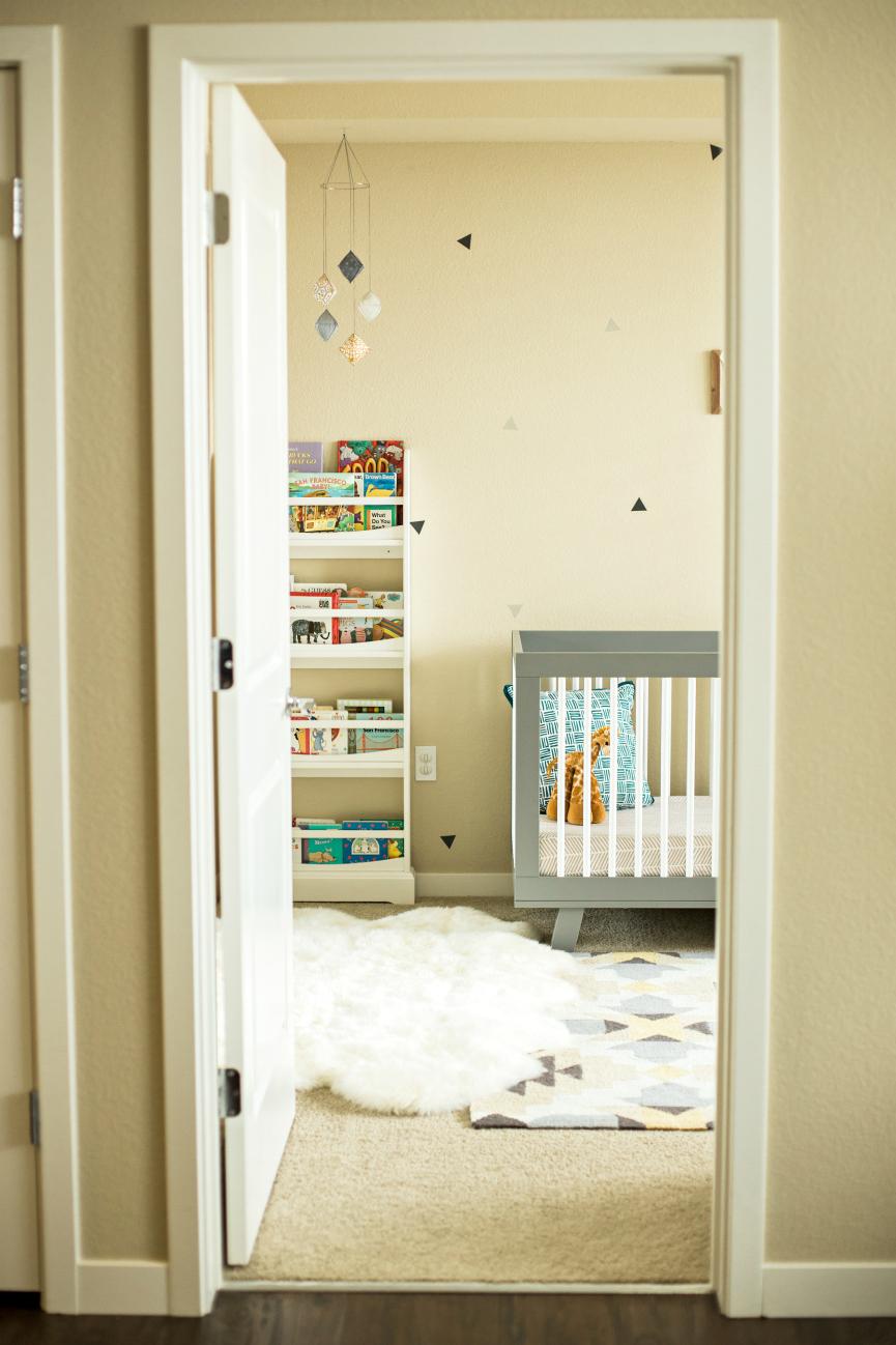 modern nursery mobile