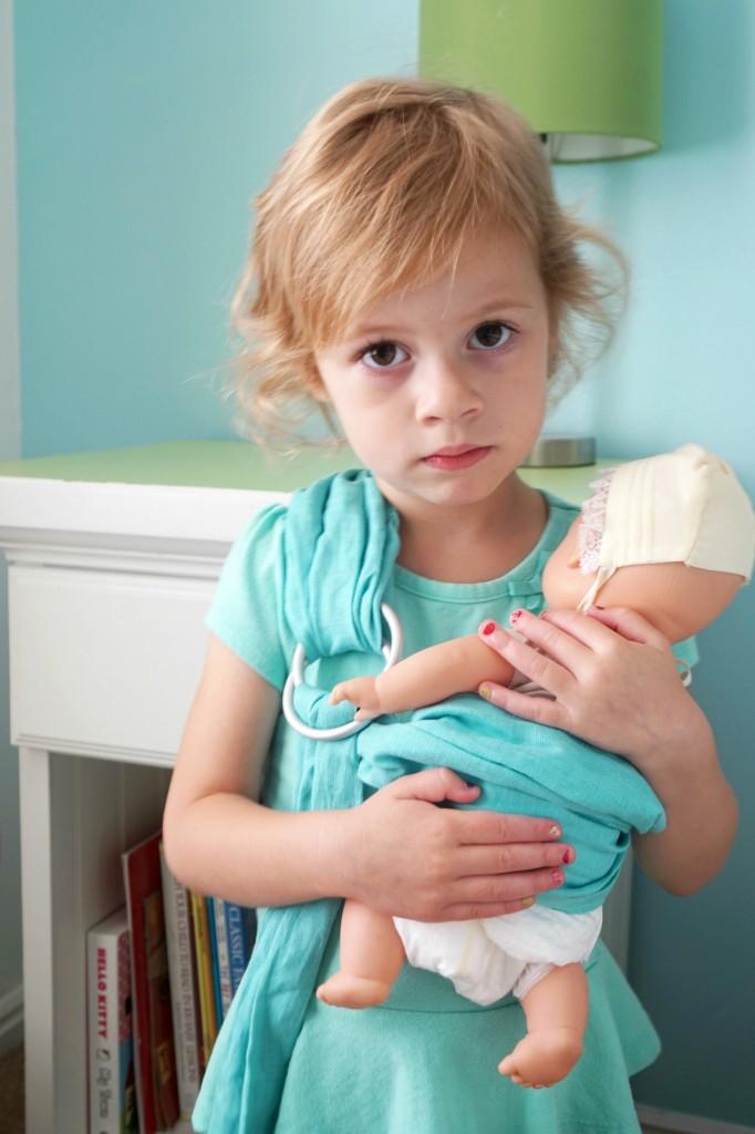 Hope Carried Kid Sling Josie