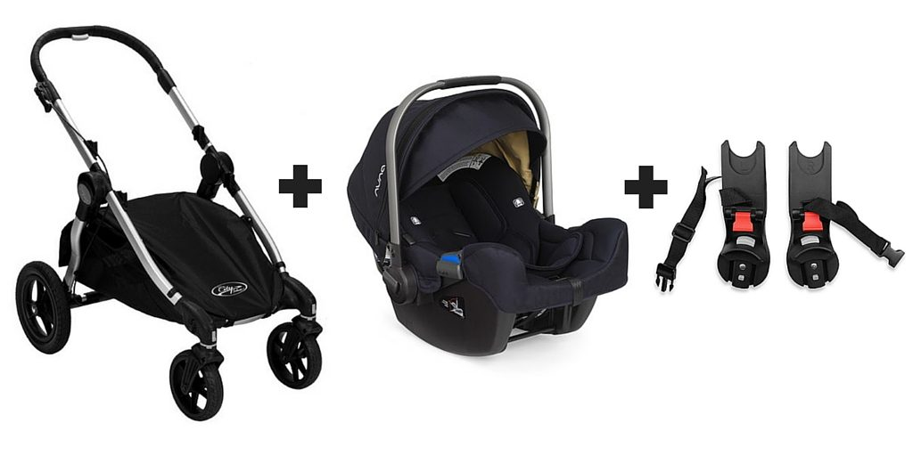 HOW TO USE NUNA PIPA CAR SEAT WITH CITY SELECT STROLLER - Mommy Status