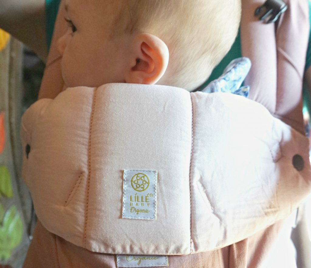 Close up LILLEbaby Organic Carrier