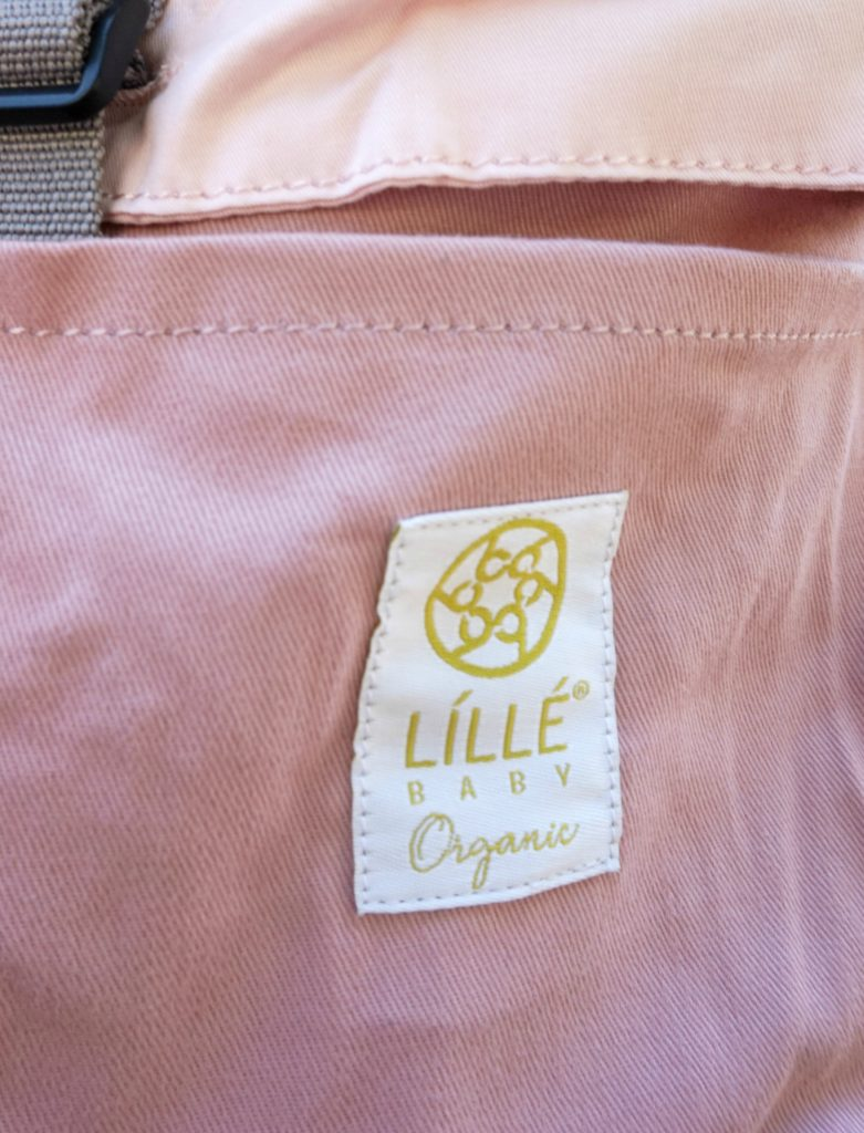 Close up of LILLEbaby Organic