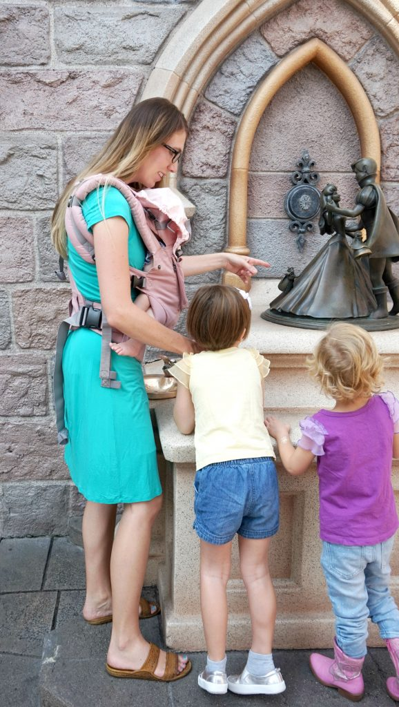 Disneyland LILLEbaby Organic Carrier