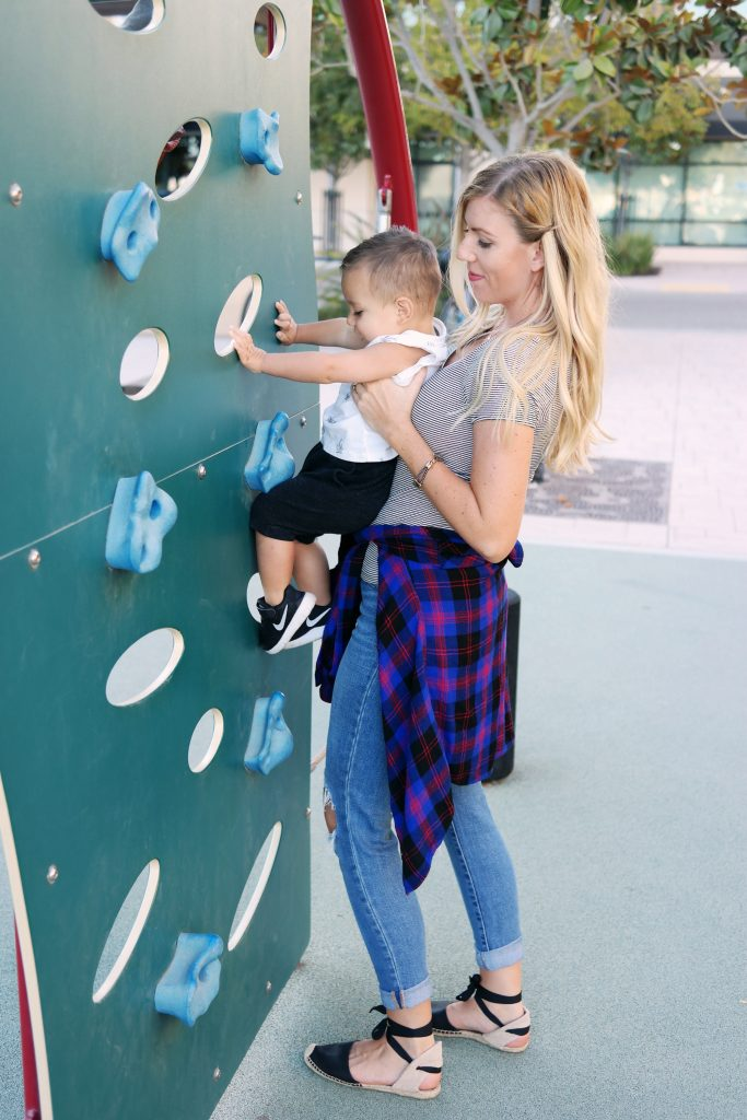 toddler playground, toddler climbing wall