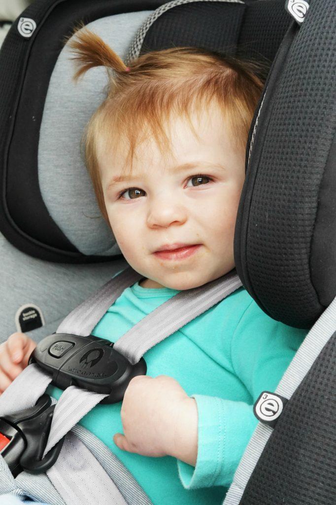 Evenflo Symphony Car Seat Black