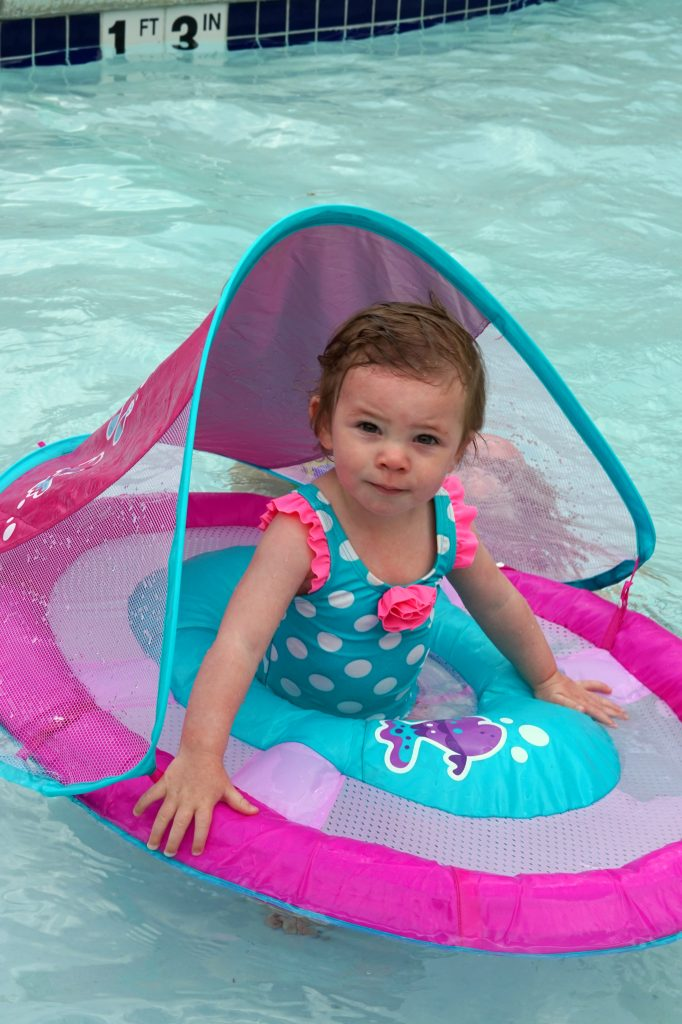 SwimWays Baby Float Pink