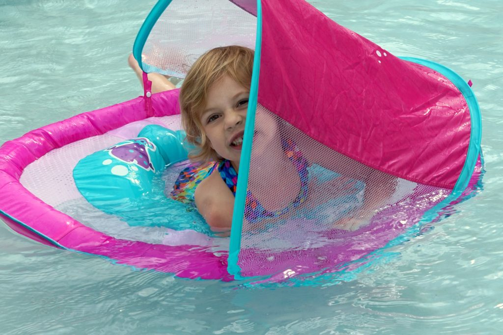 SwimWays Baby Float PinkBlue