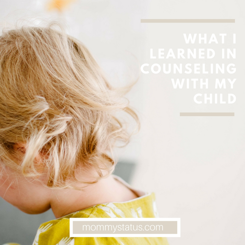 What I learned in counseling with my child (1)