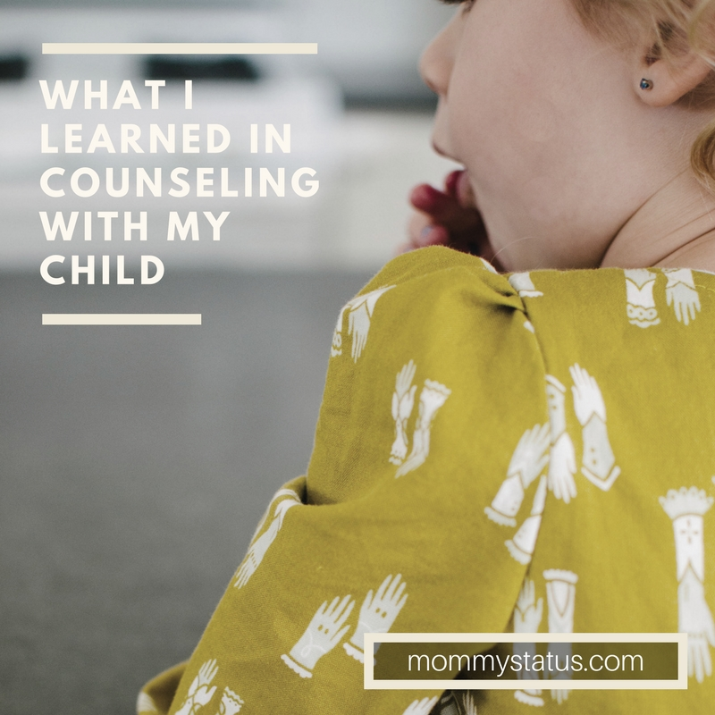 What I learned in counseling with my child